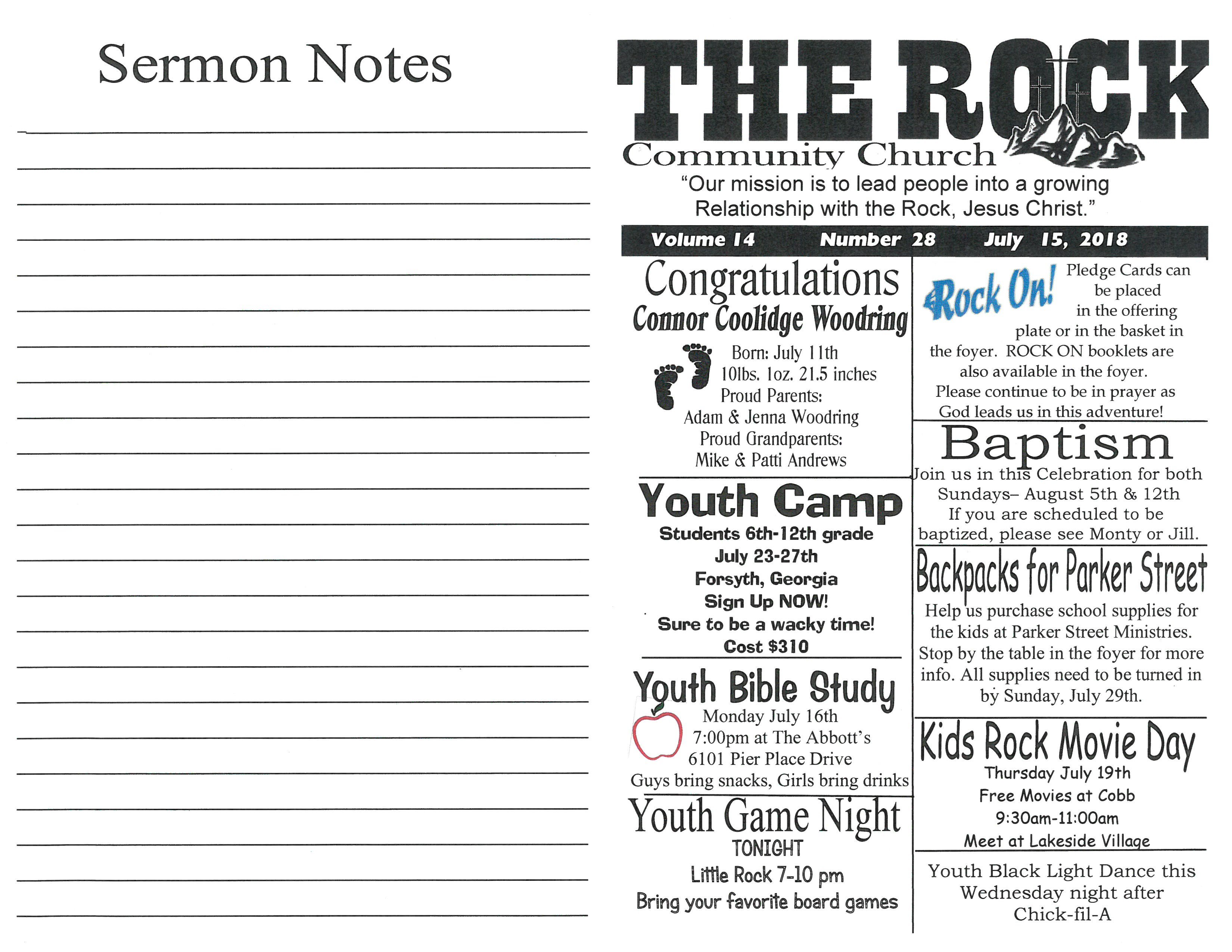 Resources - The Rock Community Church - Lakeland, FL